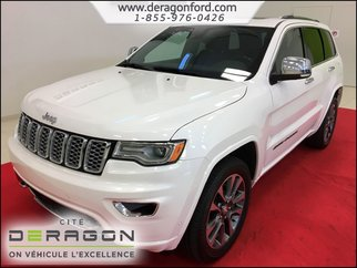 2017 Jeep Grand Cherokee OVERLAND CUIR TOIT PANO MAGS NAV CAMERA