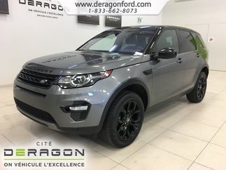 2017 Land Rover DISCOVERY SPORT HSE TOIT PANO ROUES 19