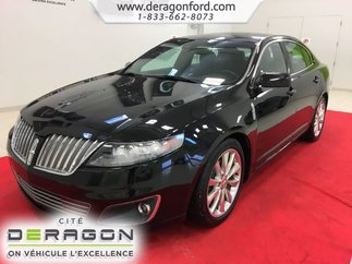 Lincoln MKS AWD ECOBOOST NAV TOIT OUVRANT CAMERA MAGS 20P 2012
