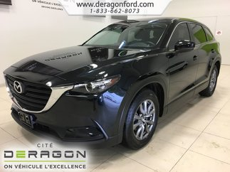 2018 Mazda CX-9 GS 7 PASSAGERS DEMARREUR CAMERA ROUES 18