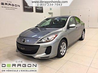 Mazda Mazda3 GX+CRUISE CONTROL+VITRES ÉLECTRIQUES+TAPIS HIVERS 2012