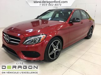 2017 Mercedes-Benz C-Class C300 4MATIC PREMIUM PACK SPORT PACK NIGHT PACK