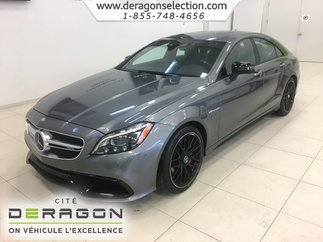 Mercedes-Benz CLS 63 AMG S + 4MATIC + AVANTGARDE EDITION PACKAGE 2017