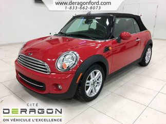 MINI Cooper Convertible CUIR BLUETOOTH AUTOMATIQUE SIEGES CHAUFFANTS 2015