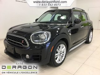 MINI Countryman Cooper S ALL4 TOIT PANO CAMERA CUIR ROUES 18