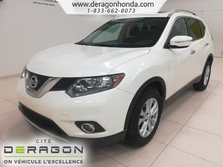 Nissan Rogue SV+TOIT PANORAMIQUE+CAMERA DE RECUL+AIR CLIMATISE 2015