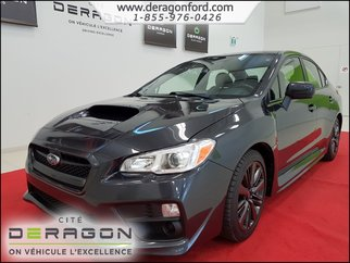 2017 Subaru WRX AWD 268HP SIEGES CHAUFFANTS A/C BLUETOOTH CAMERA