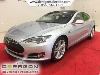 Tesla Model S P85 + TOIT OUVRANT + GPS + CAMÉRA + WI-FI 2012