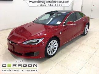 Tesla Model S 60D + AUTO PILOTE + GPS + TOIT PANO + CAM V.NEUF 2017