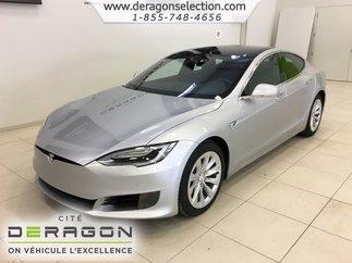 Tesla Model S 60D + AUTOPILOTE + NAV + CAMÉRA + TOIT PANO V.NEUF 2017