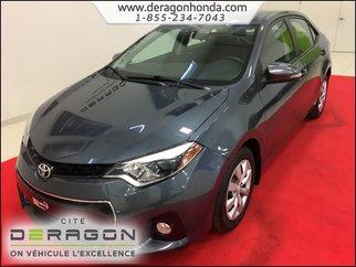 2014 Toyota Corolla S 1.8L + BAS KILO + CAMERA DE RECUL + AIR CLIM