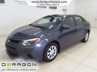 2014 Toyota Corolla CE+BLUETOOTH+LECTEUR CD+VITRES ELECTRIQUES