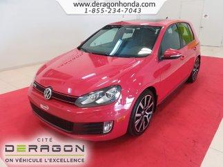 2012 Volkswagen Golf GTI GTI + ROUES EN ALLIAGE + INTERIEUR EN CUIR