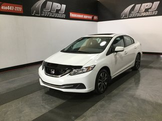 Honda Civic Sedan EX-TOIT-CAM RECUL-GROUPE ELECTRIQUE 2014