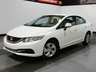 Honda Civic LX -SIÈGES CHAUFFANTS-A/C 2013