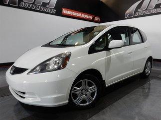 Honda Fit LX -- JAMAIS ACCIDENTÉ- A/C 2013