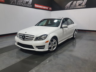 2013 Mercedes-Benz C-Class C 300- 4MATIC-TOIT PANORAMIQUE-AWD-A/C-MAGS