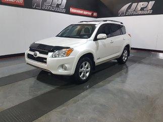 Toyota RAV4 LIMITED-V6-CUIR-TOIT-CAM RECUL-JAMAIS ACCIDENTE 2010
