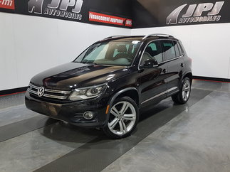 Volkswagen Tiguan HIGHLINE-R LINE-AWD-CUIR-TOIT-JAMAIS ACCIDENTE 2014