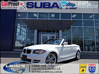 BMW 1 Series 1 Series   CONVERTIBLE 128i 2011