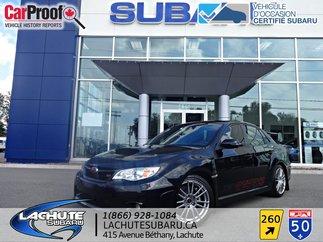 2013 Subaru STI   TOIT OUVRANT STI w/Tech Pkg  cuir, toit ouvrant , gps , exaust
