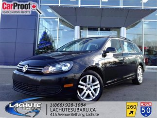 Volkswagen Golf Wagon TOIT OUVRANT PANORAMIQUE Comfortline 2010
