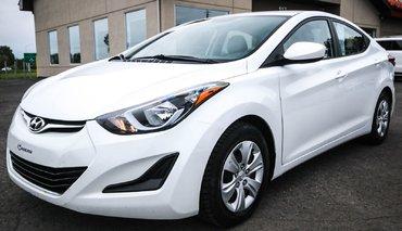Hyundai Elantra L+  AUTOMATIQUE  A/C  BAS PRIX 2016