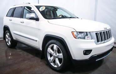 2012 Jeep Grand Cherokee Overland MAGS CUIR NAVIGATION TOIT PANO
