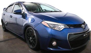 2014 Toyota Corolla S CAMERA SIÈGES CHAUFFANT BLUETOOTH