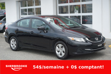 Honda Civic Berline LX, Bluetooth, caméra de recul 2014