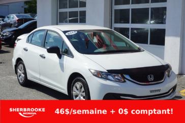 Honda Civic Berline DX, miroirs électriques, vitres électriques 2014