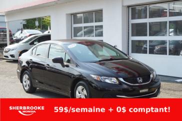 Honda Civic Berline LX, air climatisé, bluetooth. 2014