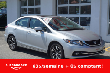 Honda Civic Berline EX, Bluetooth, toit ouvrant 2015