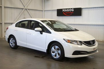 Honda Civic Berline LX bluetooth, air climatisé, groupe électrique 2015