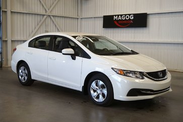 Honda Civic Berline LX bluetooth, prise usb, air climatisé 2015