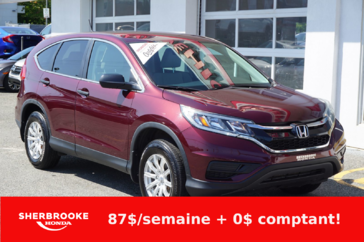Honda CR-V LX, air climatisé, bluetooth. 2015