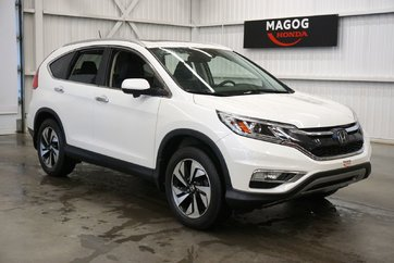 Honda CR-V Touring navy, bluetooth, caméra 2015