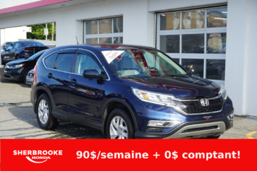 Honda CR-V EX-L, air climatisé, bluetooth, AWD 2016