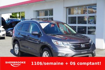 Honda CR-V EX, air climatisé, toit ouvrant, bluetooth. 2016