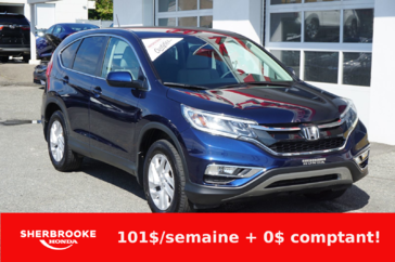 Honda CR-V SE, air climatisé, bluetooth 2016