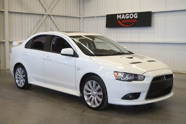 Mitsubishi Lancer Ralliart AWC (cuir-toit ouvrant-a/c-bluetooth) 2011