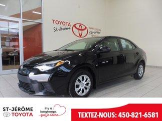 Toyota Corolla * AUTOMATIQUE * AIR * GR ÉLEC * 2014