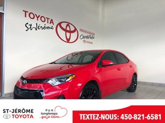 Toyota Corolla * S* TOIT * MAGS * CAMÉRA * SIÈGES CHAUFF 2015