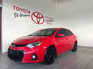 Toyota Corolla * S* TOIT * MAGS * CAMÉRA * SIÈGES CHAUFF 2015
