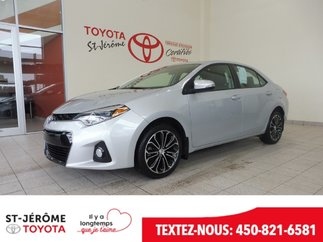 Toyota Corolla * S * TOIT * DÉMARREUR * MAGS * GR. ÉLEC. * 2016
