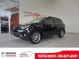 Toyota RAV4 * Limited * AWD * TOIT * MAGS * CUIR * GPS * 2016