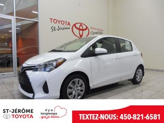 Toyota Yaris * AUTOMATIQUE * AIR * GR ÉLEC * 2016