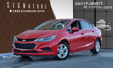 Chevrolet Cruze LT + SIEGE CHAUFFANT, CAMERA + 2017