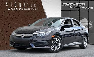 Honda Civic Sedan LX / CAMERA, SIEGE CHAUFFANT 2016