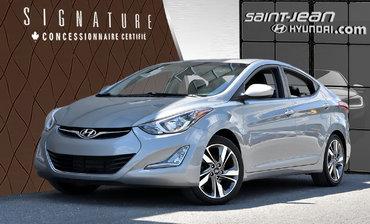 Hyundai Elantra GLS / MAGS / TOIT OUVRANT / SIÈGES CHAUFFANT 2015